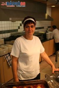 Balogh Hajni - Nagyáruház Coop Étterem - pultos